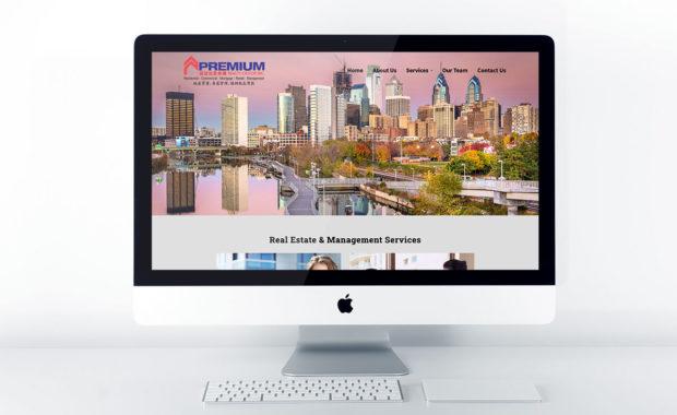 Real Estate Web Design for Premium Realty Castor