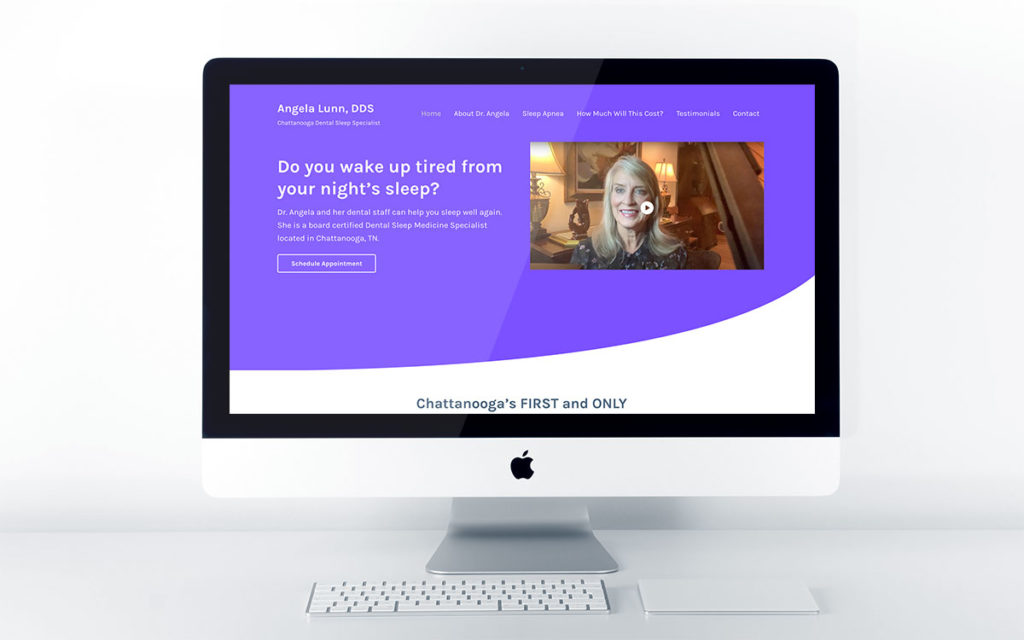 Web Design for Dental Sleep Medicine Doctor